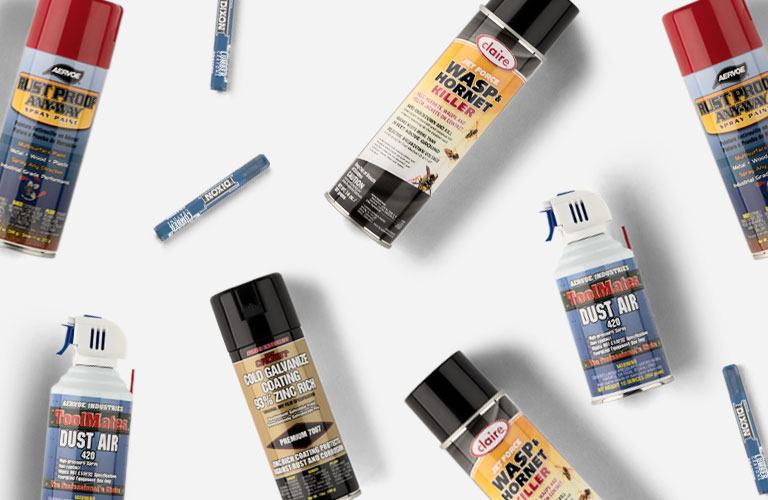 Paints, Aerosols, & Crayons